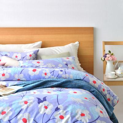 美夢元素 精梳純棉兩用被床罩組-雙人(悠悠情懷)