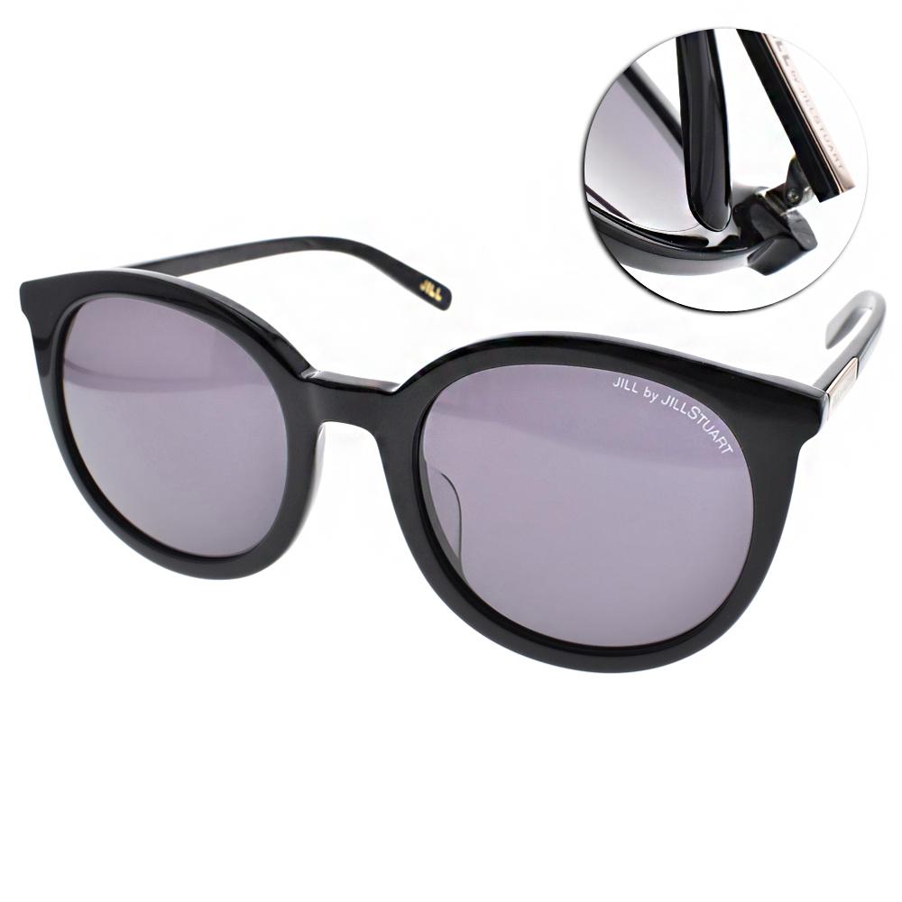 JILL STUART墨鏡 時尚圓框/黑#JS02015 C01