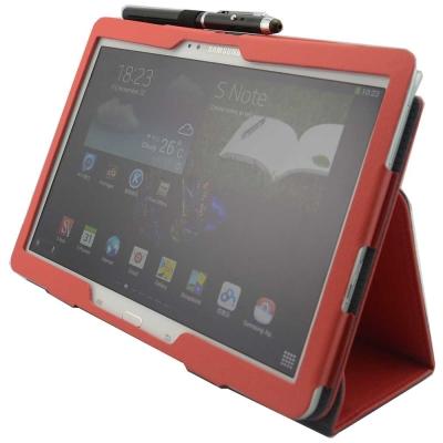 SAMSUNG P6000 P6050皮套(背夾旋轉款)+螢幕貼(贈機身貼)