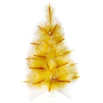台製2尺(60cm)特級金色松針葉聖誕樹裸樹