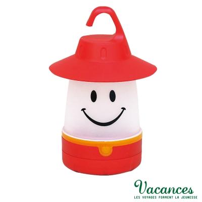 ~VACANCES~日系 世界 紅色 微笑 LED 露營燈