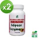 【明奕】脂肪分解酵素+澱粉分解酵素(30粒/瓶)-2瓶