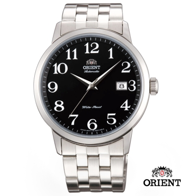 ORIENT 東方錶 Classic Design系列 日期顯示機械錶 黑色 - 41mm