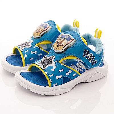 汪汪隊立大功 LED電燈涼鞋款 EI3811藍(中小童段)