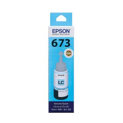EPSON T673500 原廠淡藍色墨水匣