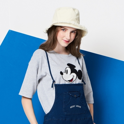 CACO-米奇款針織上衣(兩色)-女【NDI004】