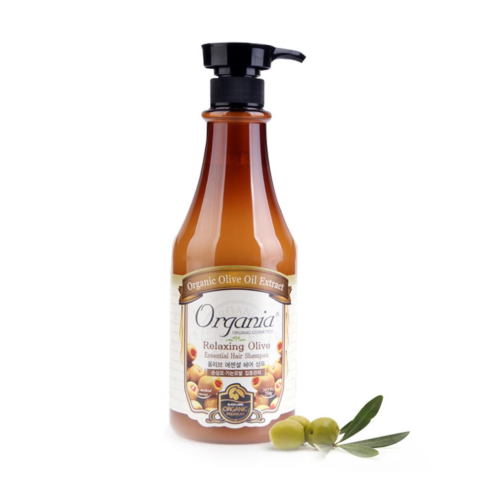 Organia歐格妮亞 橄欖舒活抗壓洗髮精750g