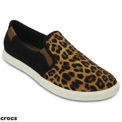 Crocs 卡駱馳 (女) 都會街頭便鞋-203545-95K