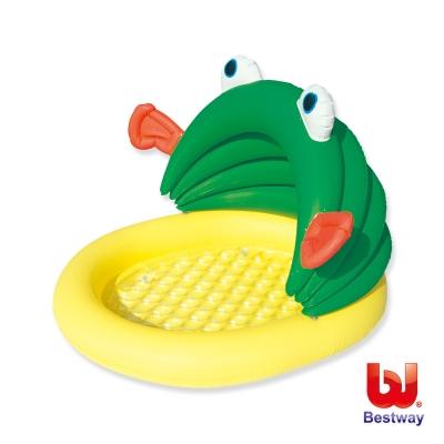 凡太奇。Bestway。魚和我抗UV幼兒充氣戲水池