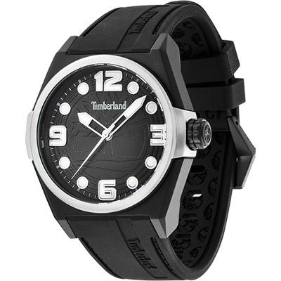 Timberland Radler 都會雅痞中性腕錶-黑/42mm
