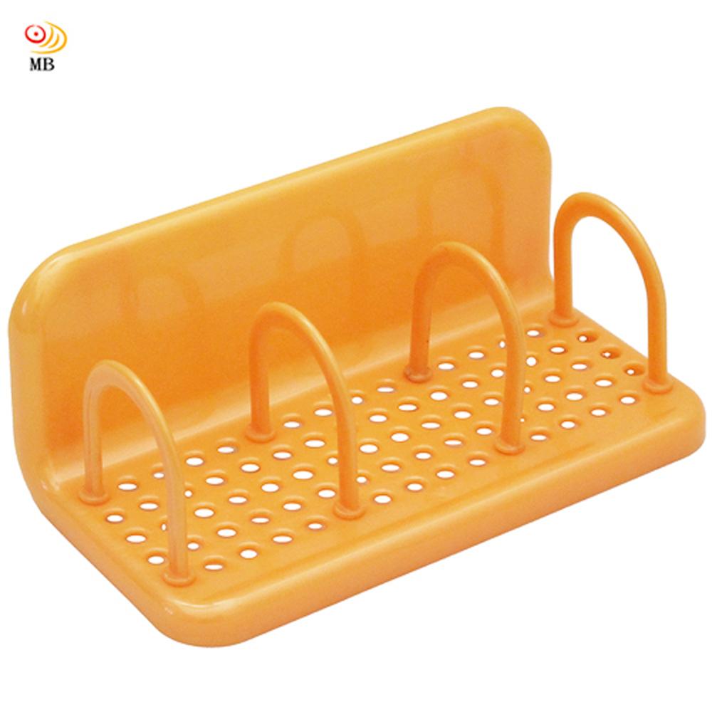日式可調整分格欄吸盤式流理台浴室雜物置物架超值2入(1006)