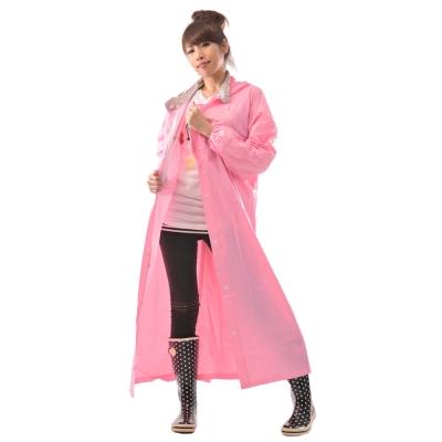 [快]三和牌-時尚品味 pvc前開式雨衣