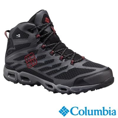 【Columbia哥倫比亞】男-防水戶外高筒鞋-黑色 UBM17540BK