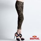 BRAPPERS 女款 Boy Firend Work系列-女用彈性九分反摺工作褲-迷彩
