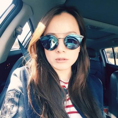 NINE ACCORD太陽眼鏡 雙槓造型款/銀#KISSING-MARSTWO C02