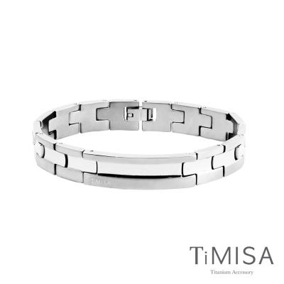 TiMISA《原始晶燦(原色)》純鈦鍺手鍊