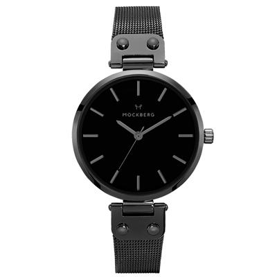 MOCKBERG  騎士女侍時尚米蘭腕錶-MO305-34mm