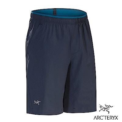 Arcteryx 男 Aptin 防潑水彈性短褲 夜景藍
