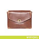 MIRYOKU 復古皮革系列 / 復古小信封斜背包(共3色)