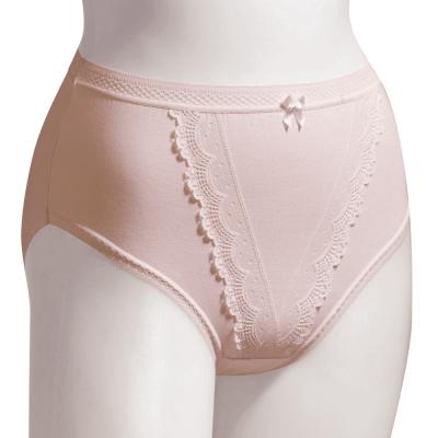 思薇爾 絲芙麗L-3L高腰三角內褲(粉紅色)