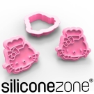 Siliconezone 施理康Hello Kitty餅乾模