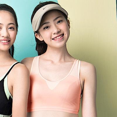 嬪婷- 陽光運動 M-3L 運動背心 (有氧橘)冰涼紗-吸濕排汗