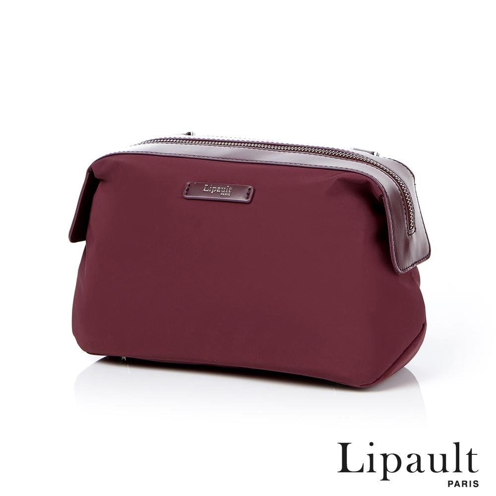 法國時尚Lipault 輕量保齡球包S(深酒紅)