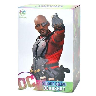 DC 美版 自殺突擊隊 12吋 完成品雕像 死亡射手 佛洛伊德 勞頓