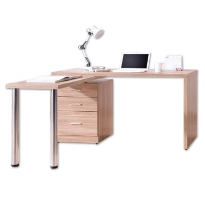 Boden-凱希4.9尺多功能旋轉桌/工作桌(原木色)-146x60~146x78cm