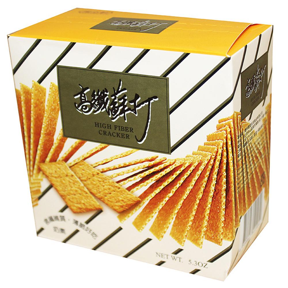 掬水軒 高纖蘇打餅乾(150gx2盒)