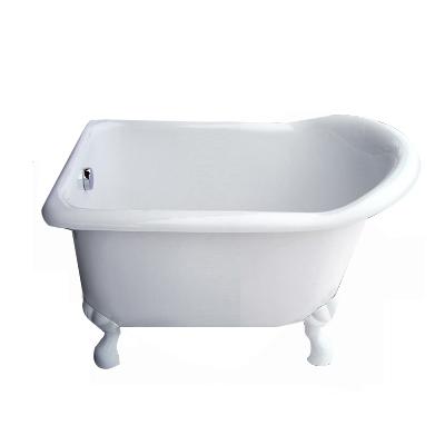 【I-Bath Tub精品浴缸】伊莉莎白-典雅白(110cm)