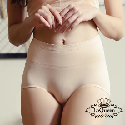 內褲  素面簡約無痕蠶絲內褲-膚 La Queen