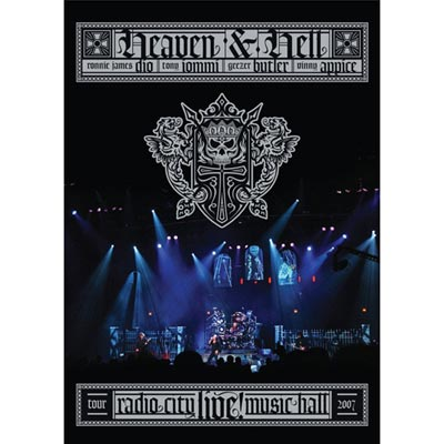 天堂與地獄 - 無線電城音樂廳現場 DVD