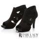 Fair-Lady-復古縷空魚口高跟踝靴-黑