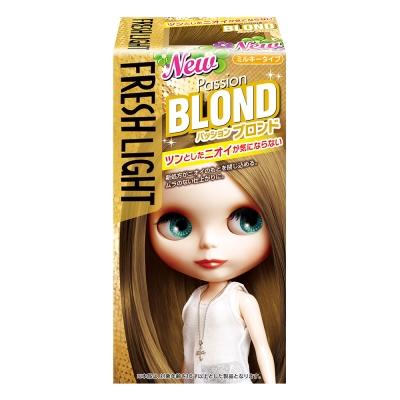 FRESHLIGHT富麗絲 染髮系列亞麻棕(第一劑40g第二劑80ml)