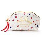 Sanrio HELLO KITTY幸福女孩系列第二彈PU皮革筆袋/化妝包(甜蜜草莓)