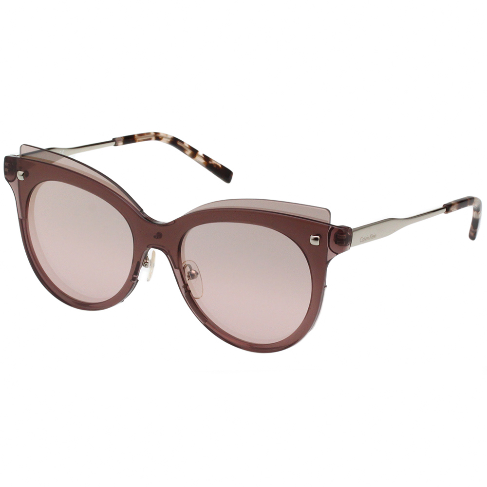 Calvin Klein- 造型太陽眼鏡(茶色)CK3196S