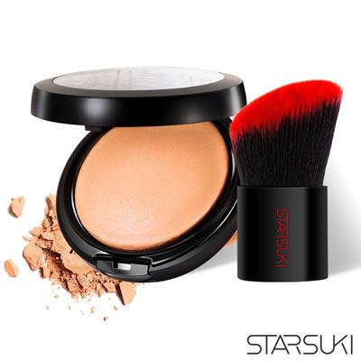 STARSUKI SPOTLIGHT 3D光效持色粉餅+迷你小辣椒腮紅蜜粉刷