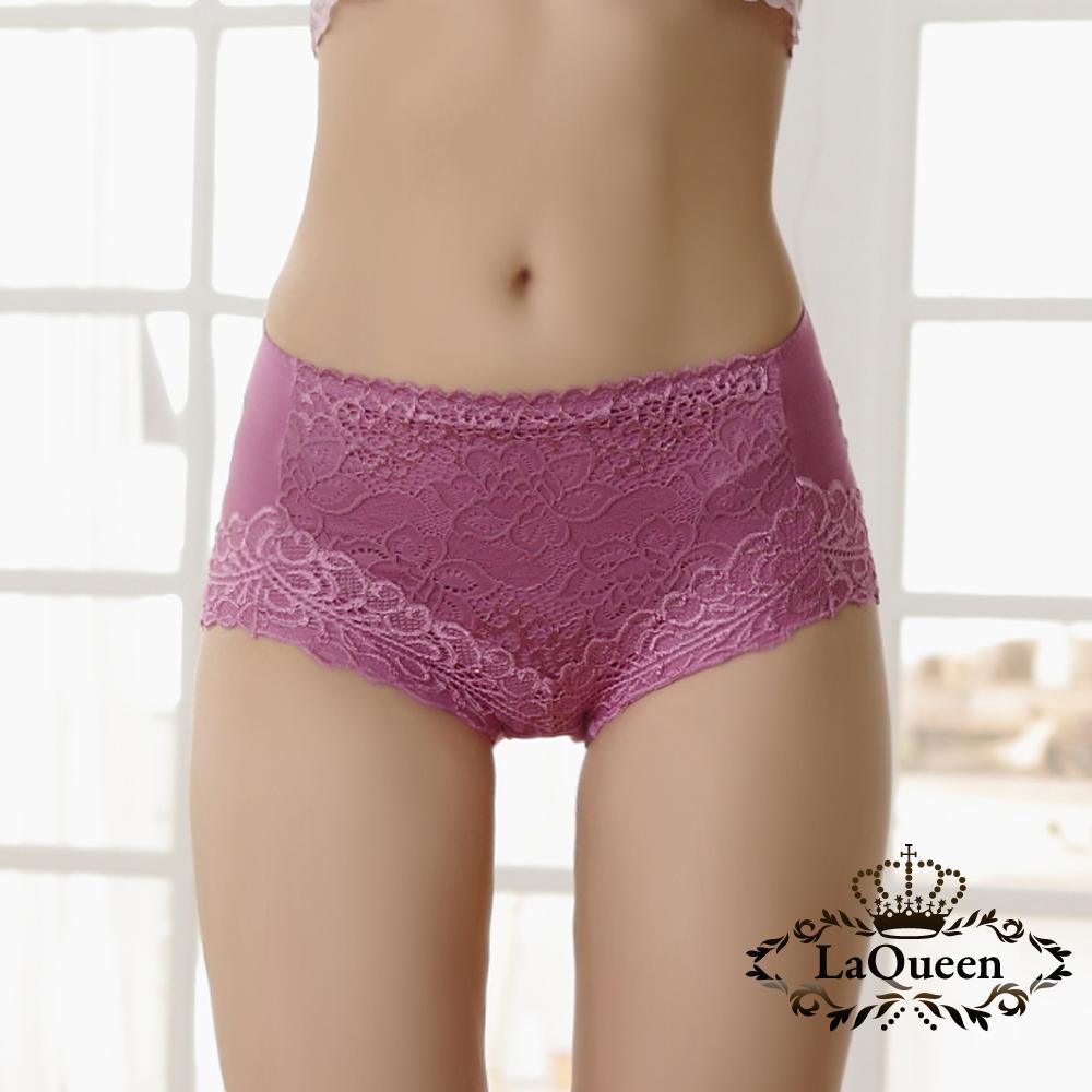內褲  舒適輕塑蠶絲內褲-粉 La Queen