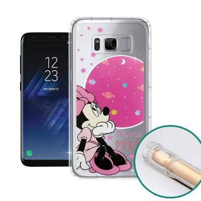 迪士尼正版 SAMSUNG Galaxy S8+ 空壓安全手機殼(米妮)
