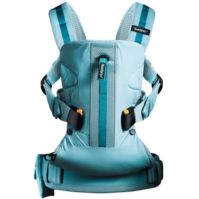 奇哥 BabyBjorn One Outdoors 超輕量多功能透氣抱嬰袋-藍
