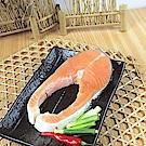 買一送一 好神深海瑰寶生凍鮭魚片4片組(165g/片 共8片)