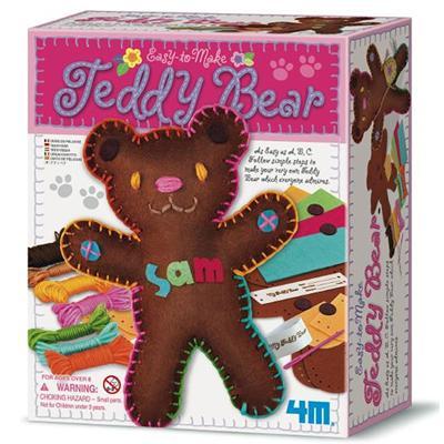 《4M美勞創作》 我的泰迪熊玩偶