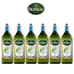 Olitalia奧利塔 玄米油料理組(1000mlx6瓶)