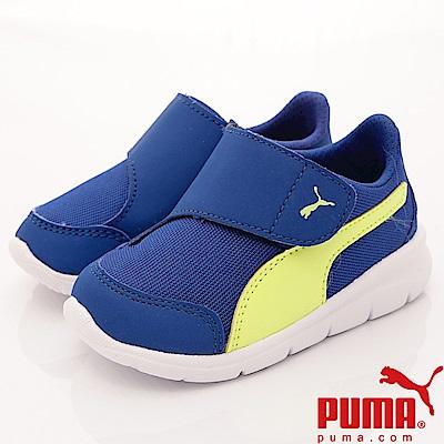 PUMA童鞋 輕量經典流線款 90943-02 藍 (小童段)
