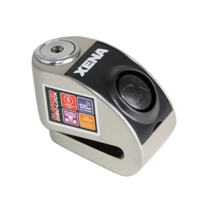 XENA-XZZ5LSS-不鏽鋼警報碟剎機車鎖