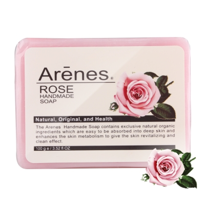 Arenes 玫瑰香氛植萃手工皂100g