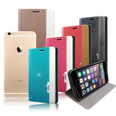 VXTRA iphone 6 /6s  韓系潮流 磁力側翻皮套