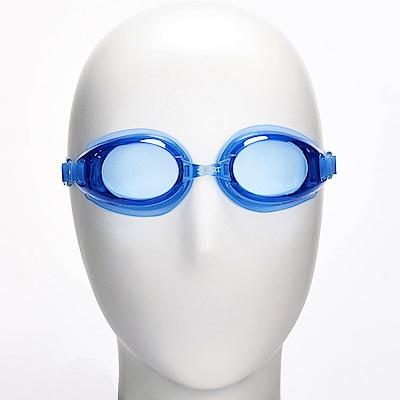 聖手牌 泳鏡 藍色平光防霧泳鏡