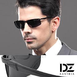 DZ 曲線基調 抗UV 偏光太陽眼鏡墨鏡(酷黑)